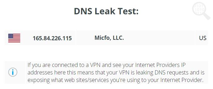 Opera-VPN-DNS-Test