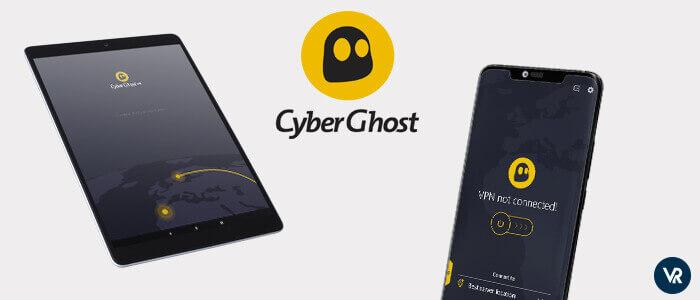 CyberGhost VPN Android perfecto para navegación privada