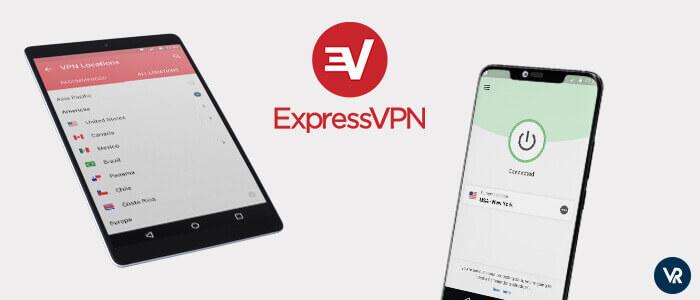 ExpressVPN Mejor aplicación VPN para Android para streaming