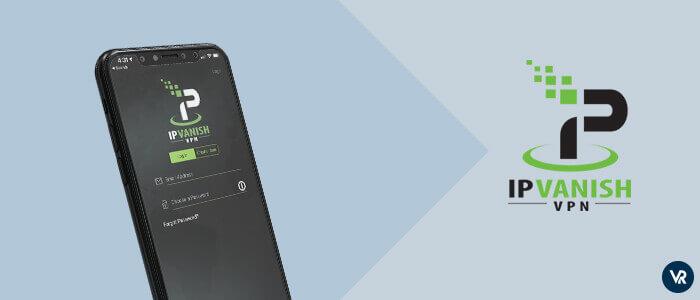 IPVanish Un cliente VPN popular para iPhone