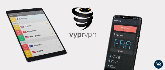 Aplicación VPN Para Android VyprVPN con protocolo Chameleon