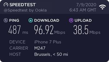 nordvpn-speed-test-result-brasilien