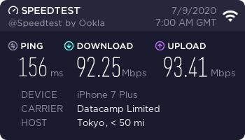 nordvpn-speed-test-result-japan