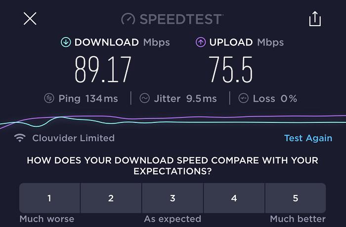 expressvpn-speed-test-result-UK-server