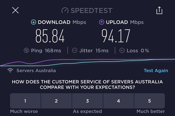 expressvpn-speed-test-result-australia-server