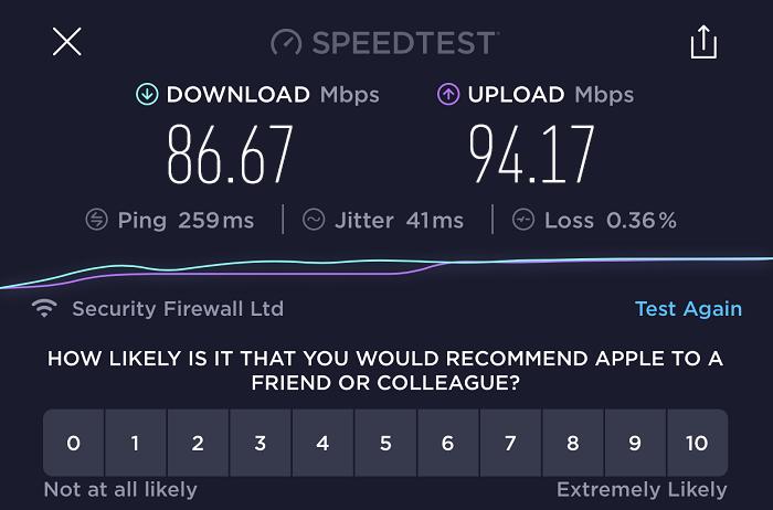 expressvpn-speed-test-result-hong-kong-server